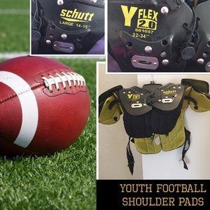 Schutt Youth football shoulder pad GUC
